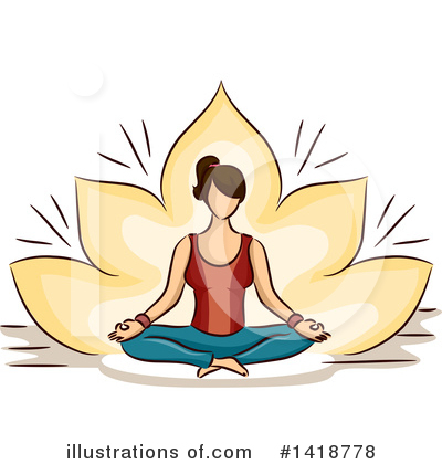 Royalty-Free (RF) Woman Clipart Illustration by BNP Design Studio - Stock Sample #1418778