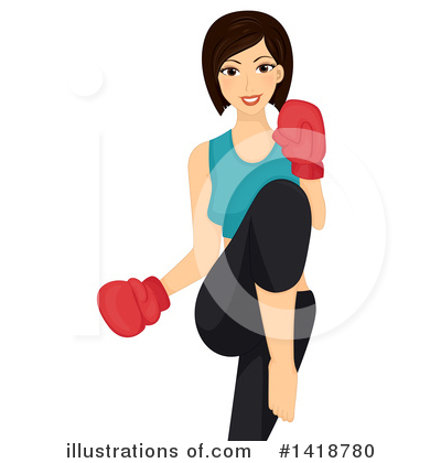 Boxing Clipart #1418780 by BNP Design Studio