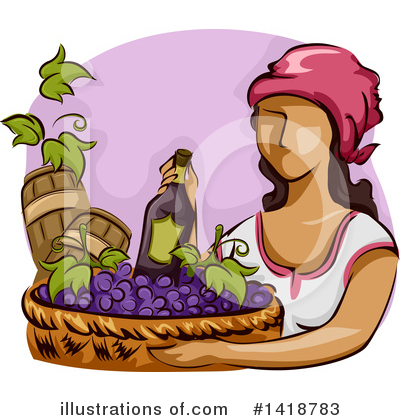 Winery Clipart #1418783 by BNP Design Studio