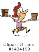 Woman Clipart #1434199 by toonaday
