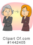 Woman Clipart #1442405 by BNP Design Studio