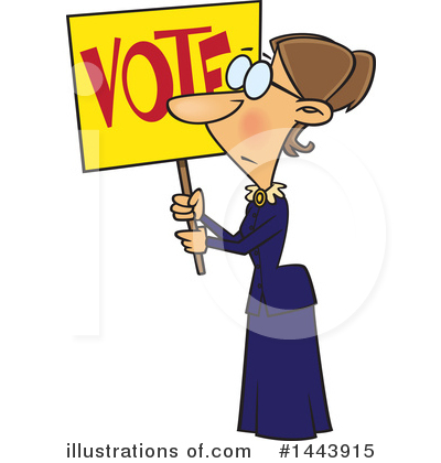 Voting Clipart #1443915 by toonaday