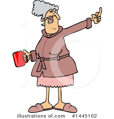 Old Woman Clipart #1445102 by djart