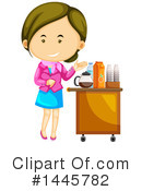 Royalty-Free (RF) Woman Clipart Illustration #1445782