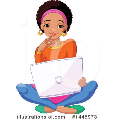 Laptop Clipart #1445973 by Pushkin