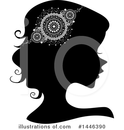 Royalty-Free (RF) Woman Clipart Illustration by BNP Design Studio - Stock Sample #1446390