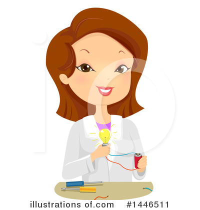 Scientist Clipart #1446511 by BNP Design Studio
