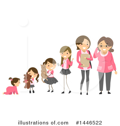 Royalty-Free (RF) Woman Clipart Illustration by BNP Design Studio - Stock Sample #1446522
