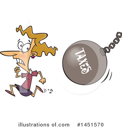 Finance Clipart #1451570 by toonaday