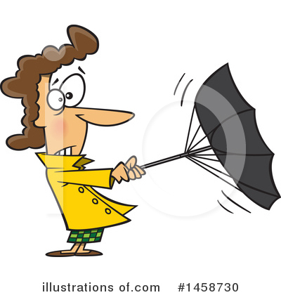 Umbrella Clipart #1458730 by toonaday