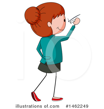 Business Woman Clipart #1462249 by Graphics RF