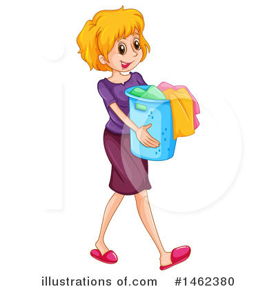 Laundry Clipart #1462380 by Graphics RF