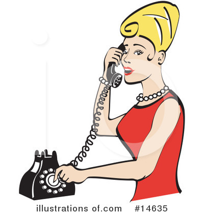Royalty-Free (RF) Woman Clipart Illustration by Andy Nortnik - Stock Sample #14635