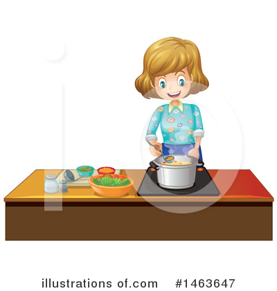 Cooking Clipart #1463647 by Graphics RF
