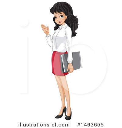 Business Woman Clipart #1463655 by Graphics RF