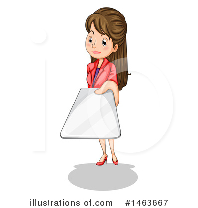 Business Woman Clipart #1463667 by Graphics RF
