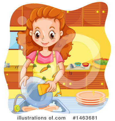 Chores Clipart #1463681 by Graphics RF