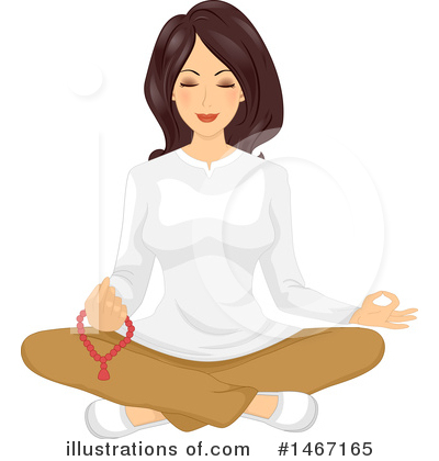 Meditating Clipart #1467165 by BNP Design Studio
