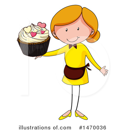 Cupcake Clipart #1470036 by Graphics RF