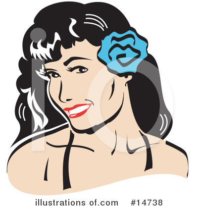 Royalty-Free (RF) Woman Clipart Illustration by Andy Nortnik - Stock Sample #14738