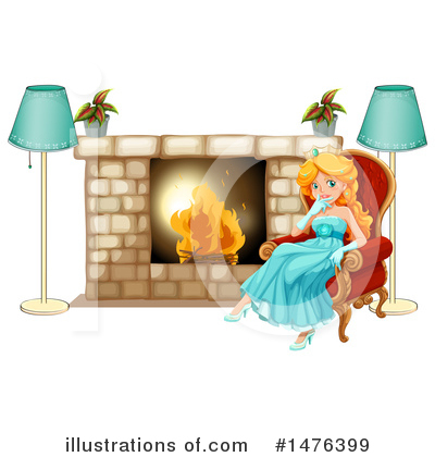 Fireplace Clipart #1476399 by Graphics RF