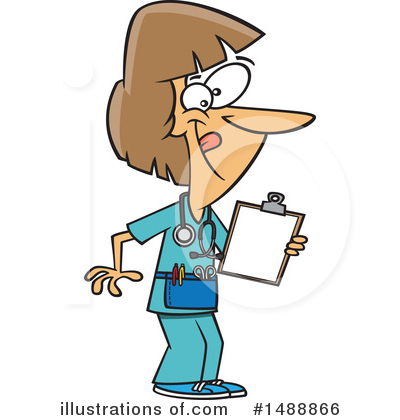 Nurse Clipart #1488866 by toonaday