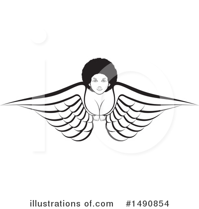 Angel Clipart #1490854 by Lal Perera