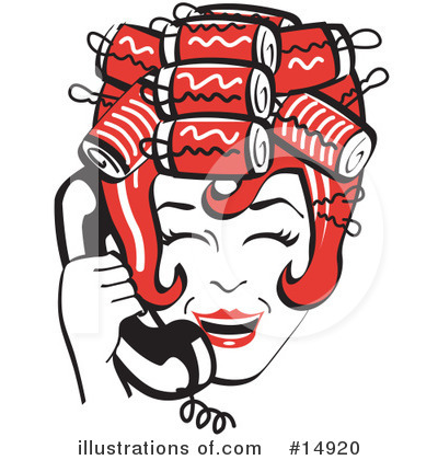 Housewife Clipart #14920 by Andy Nortnik