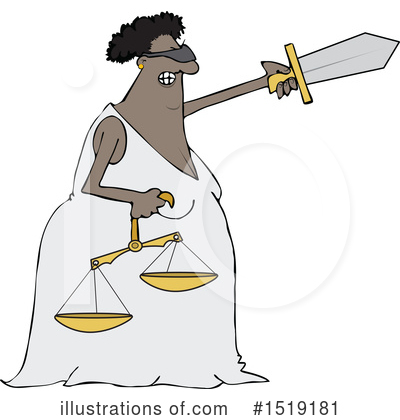 Lady Justice Clipart #1519181 by djart
