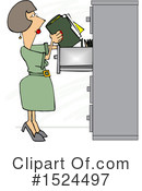 Royalty-Free (RF) Woman Clipart Illustration #1524497