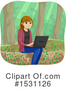 Woman Clipart #1531126 by BNP Design Studio