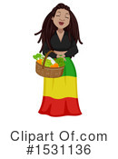 Woman Clipart #1531136 by BNP Design Studio