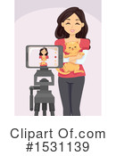 Woman Clipart #1531139 by BNP Design Studio