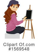Woman Clipart #1569548 by BNP Design Studio