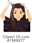 Woman Clipart #1569577 by BNP Design Studio