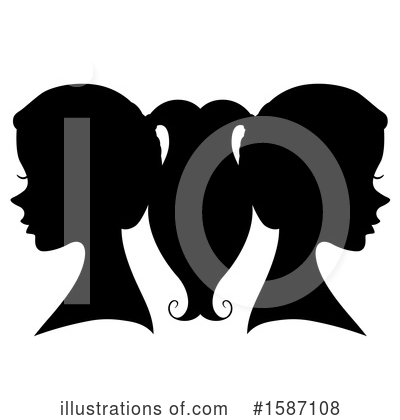 Royalty-Free (RF) Woman Clipart Illustration by BNP Design Studio - Stock Sample #1587108