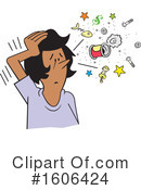 Woman Clipart #1606424 by Johnny Sajem