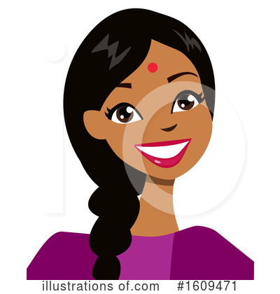 Royalty-Free (RF) Woman Clipart Illustration by peachidesigns - Stock Sample #1609471