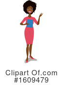 Woman Clipart #1609479 by peachidesigns