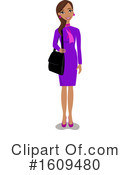 Woman Clipart #1609480 by peachidesigns
