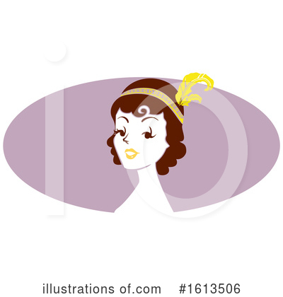Royalty-Free (RF) Woman Clipart Illustration by BNP Design Studio - Stock Sample #1613506