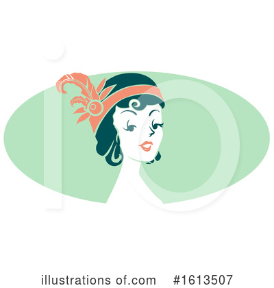 Royalty-Free (RF) Woman Clipart Illustration by BNP Design Studio - Stock Sample #1613507