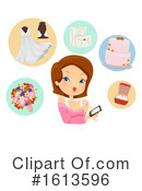 Woman Clipart #1613596 by BNP Design Studio