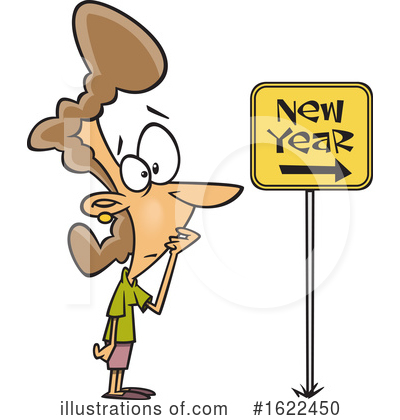 New Year Clipart #1622450 by toonaday