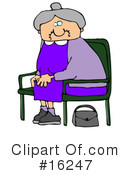 Royalty-Free (RF) Woman Clipart Illustration #16247