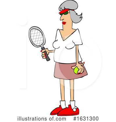 Royalty-Free (RF) Woman Clipart Illustration by djart - Stock Sample #1631300