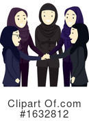 Woman Clipart #1632812 by BNP Design Studio