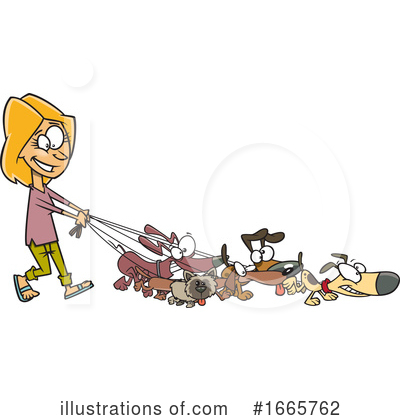 Dog Clipart #1665762 by toonaday