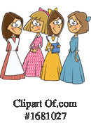 Woman Clipart #1681027 by toonaday