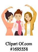 Woman Clipart #1695558 by BNP Design Studio